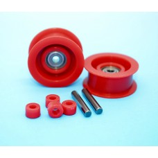 Guide pulley assembly