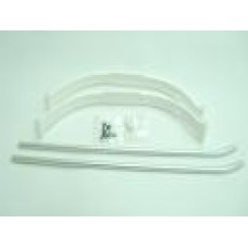 KL0077  KLONE RC Landing skid set  (White)