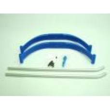 KL0077-BL  KLONE RC Landing skid set  (Blue)