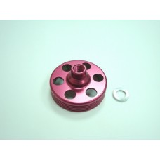 Clutch bell upgrade - Red; PV0358;PV0533;PV0536, RCT0221