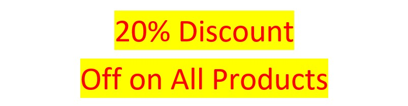 20 % Off Discount